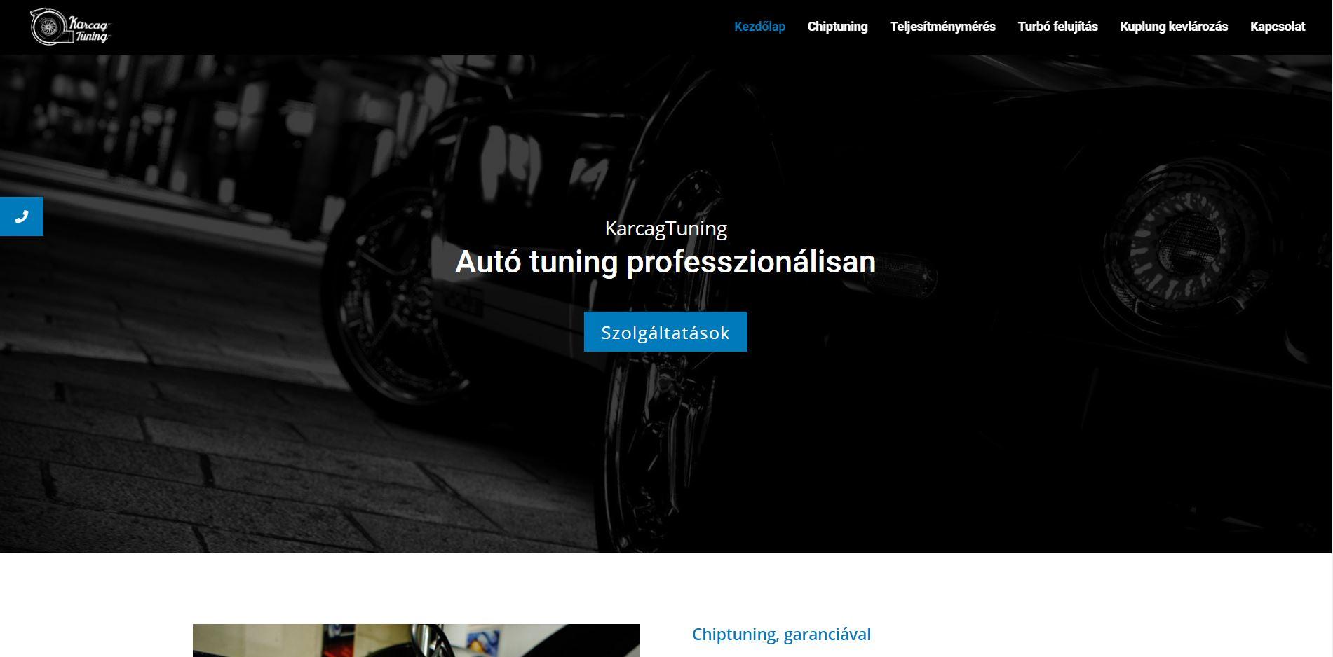 weboldal készítés, céges weboldal készítés